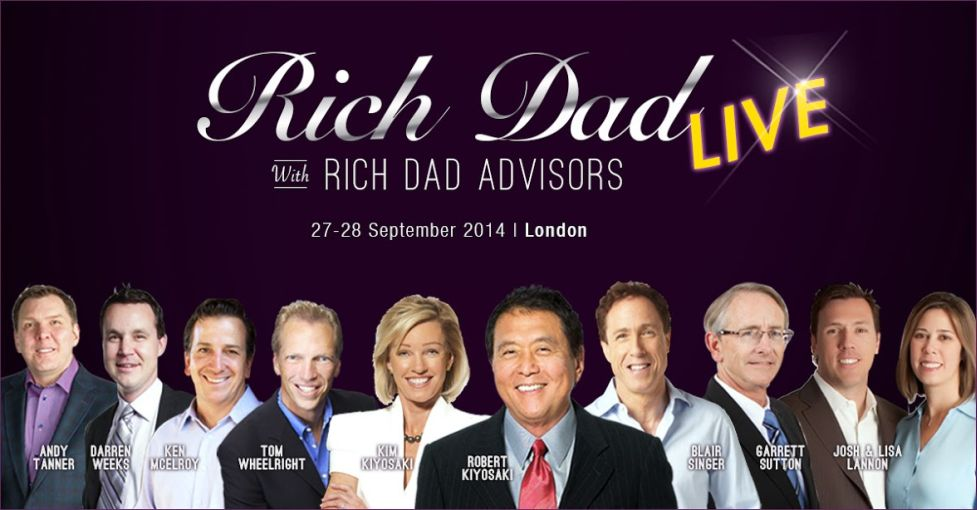 Rich Dad Live London 2014